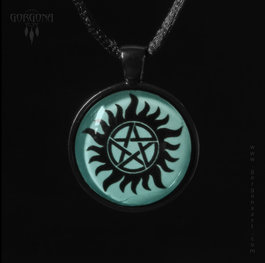 "Светещ медальон - ""Supernatural"" Anti-Possession Symbol"